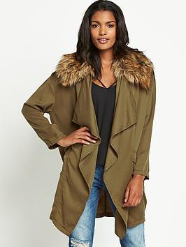 river-island-joycey-faux-fur-collar-fallaway-jacket
