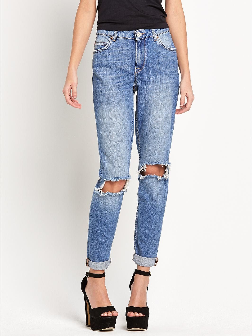 River Island Ashley Boyfriend Jeans
