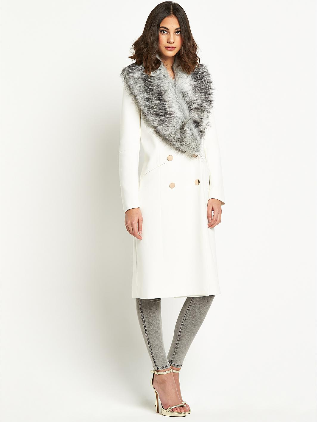 WHITE COAT WITH FUR COLLAR QUOTES on The Hunt