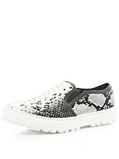 river-island-cleated-slip-on-plimsoll-sk