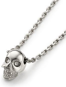 links-of-london-mini-skull-pendant-necklace-silver
