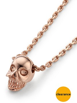 links-of-london-mini-skull-pendant-rose-gold