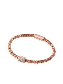 links-of-london-star-dust-bead-bracelet-rose-gold