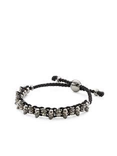 links-of-london-skull-friendship-bracelet-dark-silver