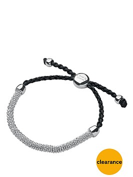 links-of-london-effervesence-xs-grey-cord-bracelet-silver