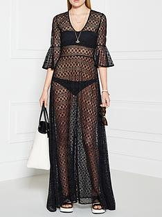 pinko-suplente-lace-dress--black