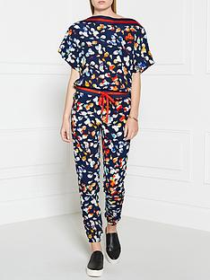 juicy-couture-floral-jumpsuit-navy
