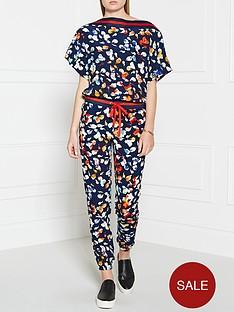 juicy-couture-floral-jumpsuit-navy
