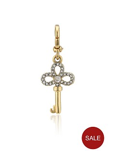 juicy-couture-mini-key-charm-gold