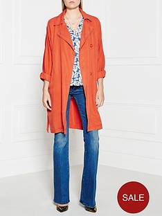american-vintage-mika-long-jacket-orange