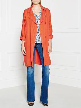 american-vintage-mika-long-jacket-orange