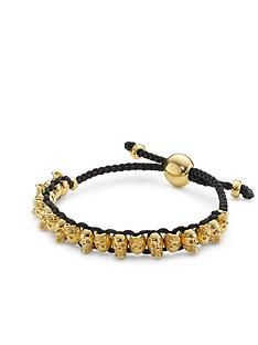 links-of-london-skull-friendship-bracelet-gold