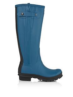 hunter-original-original-slim-leg-two-tone-boots-dusty-petrol