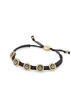 juicy-couture-status-coin-friendship-bracelet-black