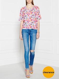 american-vintage-kip-floral-printed-blouse-multicolour