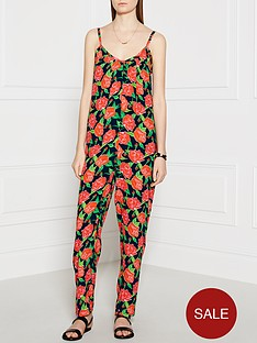 ppq-cream-label-floral-print-jumpsuit-red