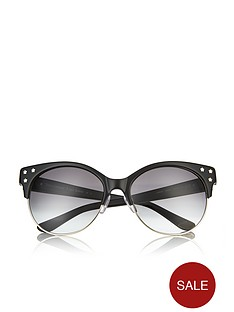 juicy-couture-semi-rimless-frame-star-studded-temple-sunglasses-black