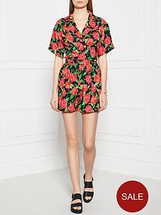 ppq-cream-label-floral-print-playsuit-black