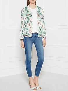 maison-scotch-tropical-print-bomber-jacket-mint