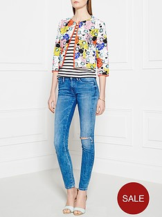 pinko-predator-floral-box-jacket-multi