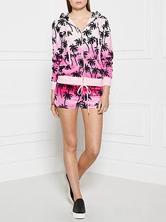 juicy-couture-forever-palm-trees-velour-hoody-pink