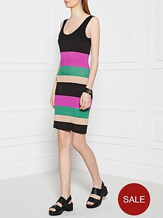ppq-cream-label-striped-vest-dress-black