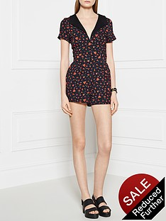 ppq-cream-label-floral-print-playsuit-red