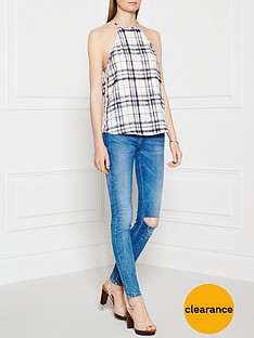 finders-keepers-check-the-rhyme-plaid-cami-top-multi