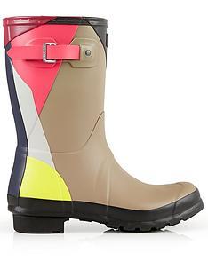 hunter-original-original-short-dazzle-boots-cream