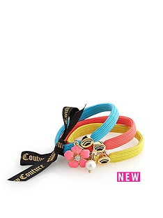 juicy-couture-charmy-elastics-hair-accessories-blueyellowcoral