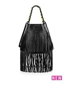 juicy-couture-oasis-leather-fringe-drawstring-bag-black