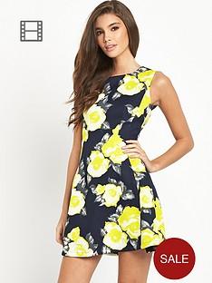 ax-paris-floral-skater-dress
