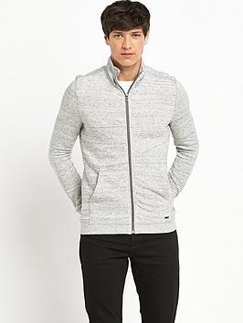 Boss Orange Mens Zip Through Sweatshirt