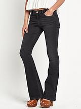 Brooke Black Flare Jeans