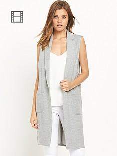 river-island-jersey-longline-sleeveless-jacket