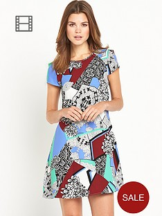 river-island-river-island-printed-swing-dress