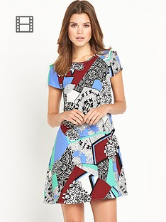 river-island-river-island-printed-swing-dress