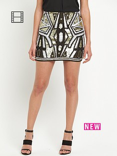 river-island-embellished-sequin-mini-skirt
