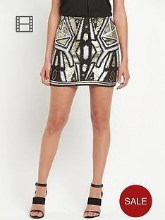 river-island-embellished-sequin-mini-skirt