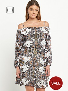 river-island-paisley-print-bardot-waisted-dress