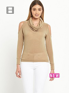 river-island-savannah-cold-shoulder-cowl-neck-jumper