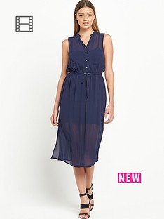 river-island-sleeveless-midi-shirt-dress