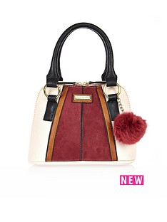 river-island-girls-pom-pom-dome-bag