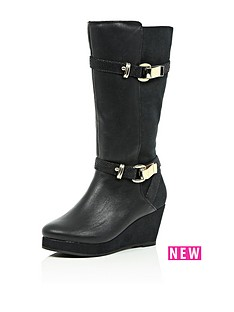 river-island-girls-long-buckle-wedge-boots