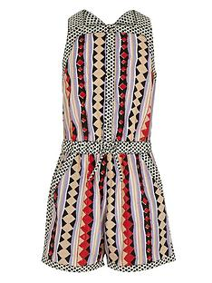 river-island-girls-diamond-print-playsuit