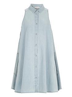 river-island-girls-denim-trapeze-dress