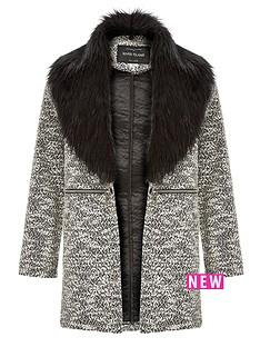 river-island-girls-colour-block-zip-coat-with-fur-collar