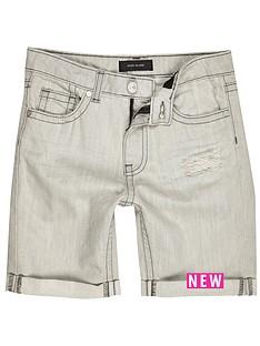 river-island-dylan-grey-rip-shorts