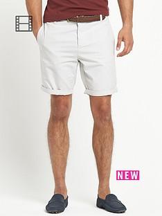 river-island-mens-spider-belted-oxford-shorts
