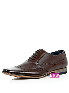 river-island-reality-2-wing-tip-shoes